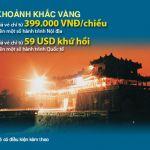 Vietnam Airlines khuyến mãi khoảnh khắc vàng