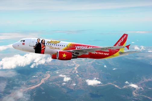 Vé máy bay Vietjet Air
