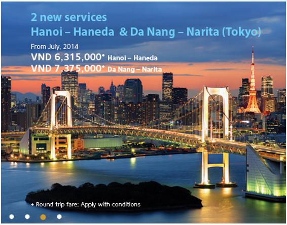 Vietnam Airlines khuyến mãi vé khứ hồi 349 USD
