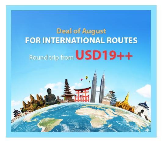 Vietnam Airlines khuyến mãi vé quốc tế khứ hồi 19 USD
