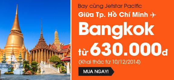 Hình ảnh Jetstar khuyến mãi vé đi Bangkok 630k