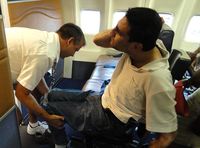 Hình ảnh quy định đối với hành khách đặc biệt trên máy bay