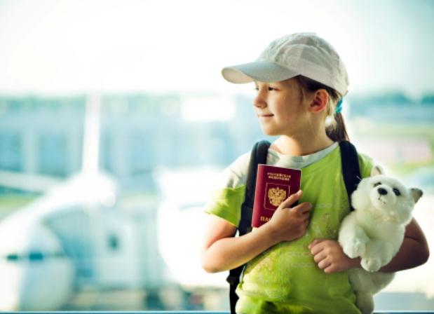 Hình ảnh quy định giấy tờ cho trẻ em khi đi máy bay