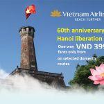 Vietnam Airlines khuyến mãi vé chỉ 399k