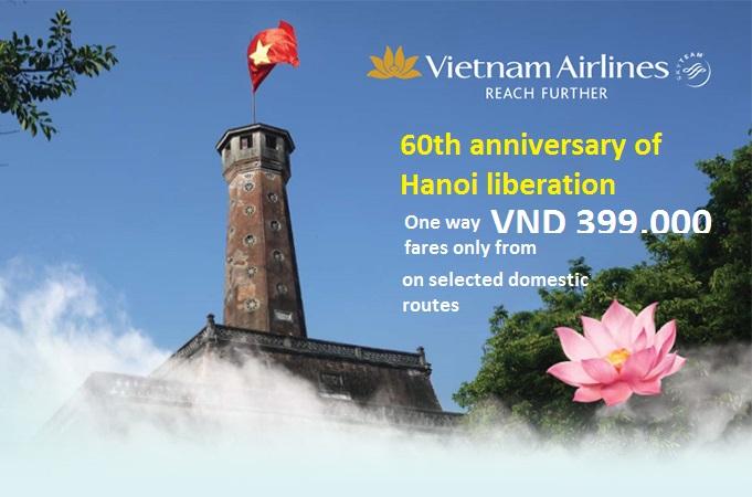 Hình ảnh Vietnam Airlines khuyến mãi vé chỉ 399k