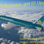 """Vietnam Airlines khuyến mãi """"mua 1 tặng 1"""""""