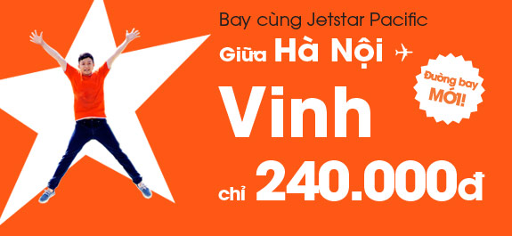 Hình ảnh Jetstar khuyến mãi vé máy bay chỉ 240k
