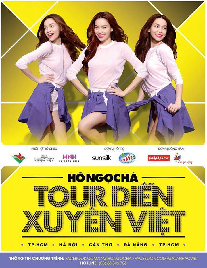 Hình ảnh nhận ngay 30 vé mời tour diễn xuyên Việt của Hồ Ngọc Hà