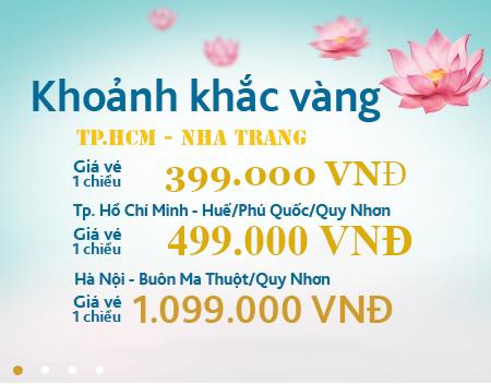 Hình ảnh Vietnam Airlines khuyến mãi vé 399.000 khoảnh khắc vàng số 15