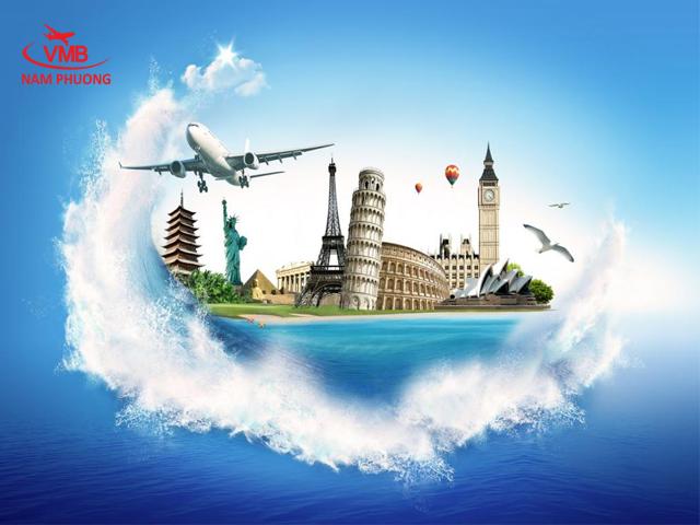 Hình ảnh vé máy bay giảm giá mạnh trong năm 2015