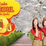5k vé máy bay khuyến mãi đi Hàn Quốc 0 đồng