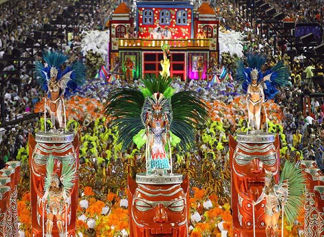 Hình ảnh những lễ hội độc đáo nhất thế giới trong tháng 2