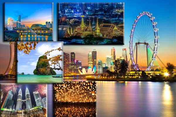 Hình ảnh để săn vé máy bay giá rẻ đi Đông Nam Á