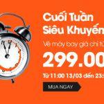 Jetstar khuyến mãi vé máy bay giá rẻ chỉ 299k