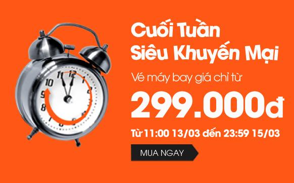 Hình ảnh Jetstar khuyến mãi vé máy bay giá rẻ chỉ 299k