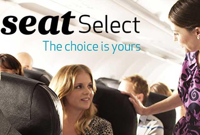 Hình ảnh lựa chọn chỗ ngồi thích hợp trên máy bay