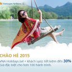 Vé máy giá rẻ tháng 4 của Vietnam Airlines
