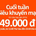 Jetstar khuyến mãi 49000 đồng