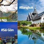Vé máy bay đi Bangkok khuyến mãi 11k
