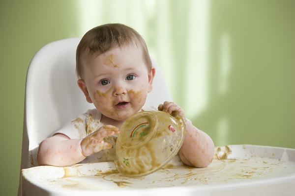 Hình ảnh bé lười ăn