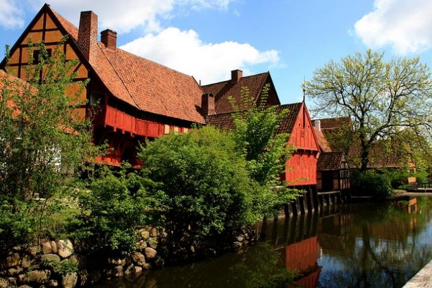 Thị trấn cổ Aarhus