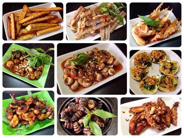 địa điểm ăn uống Sài Gòn