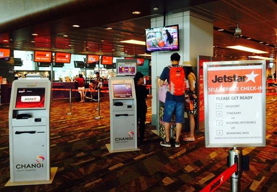 thủ tục đi máy bay Jetstar